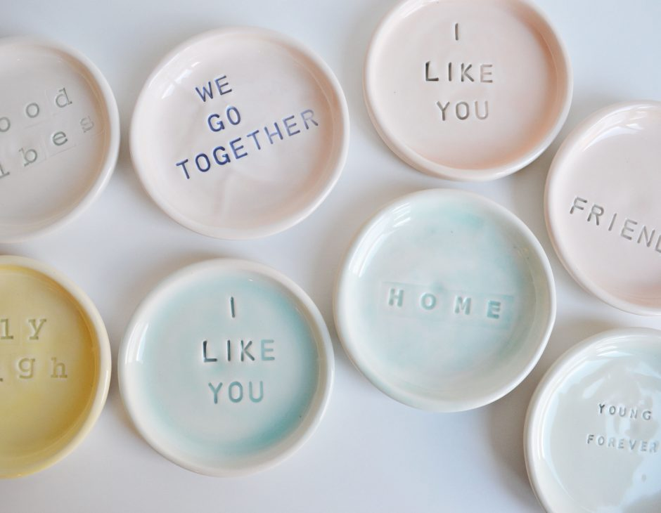 Say It On A Plate * Kesemy Design