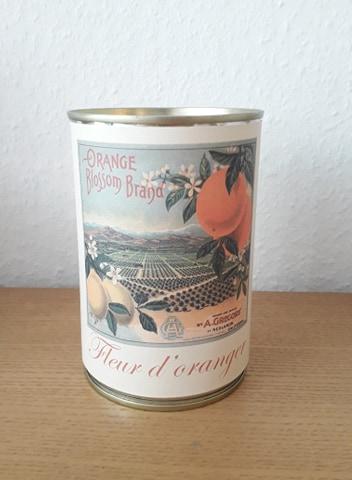 Bougie conserve Fleur d'oranger * Zeste de patine