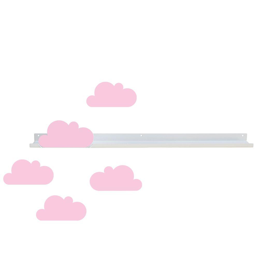 Etagère long modèle nuage et stickers nuages * Tresxics