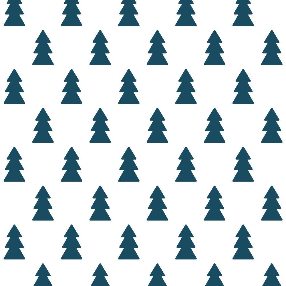 Stickers muraux arbres bleus foncés * Tresxics