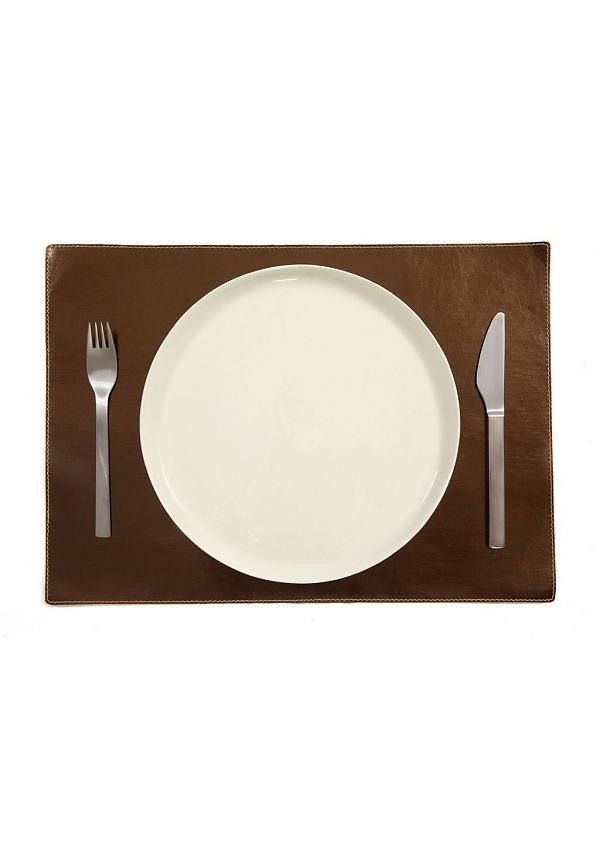 2 Sets de table rectangulaires métallisés* Uashmama