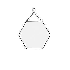 Miroir hexagonal * Madam Stoltz