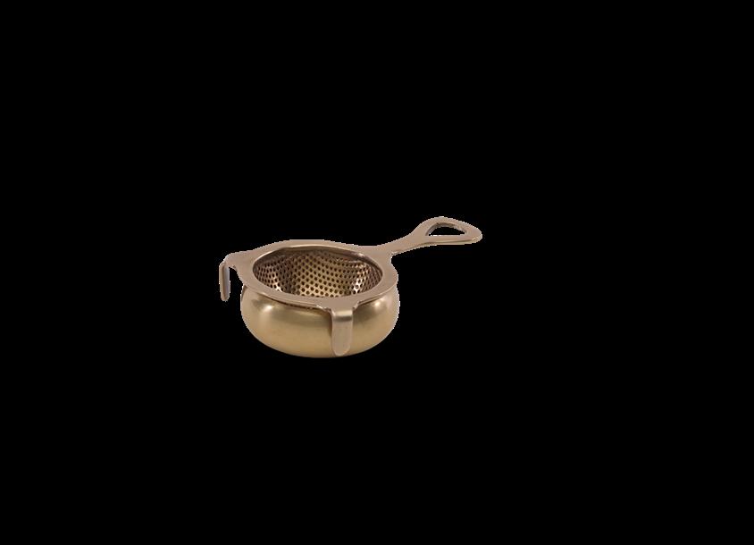 Infuseur antique à thé  en laiton * Nkuku