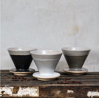 Filtre à café en céramique Ebele * Dassie Artisan