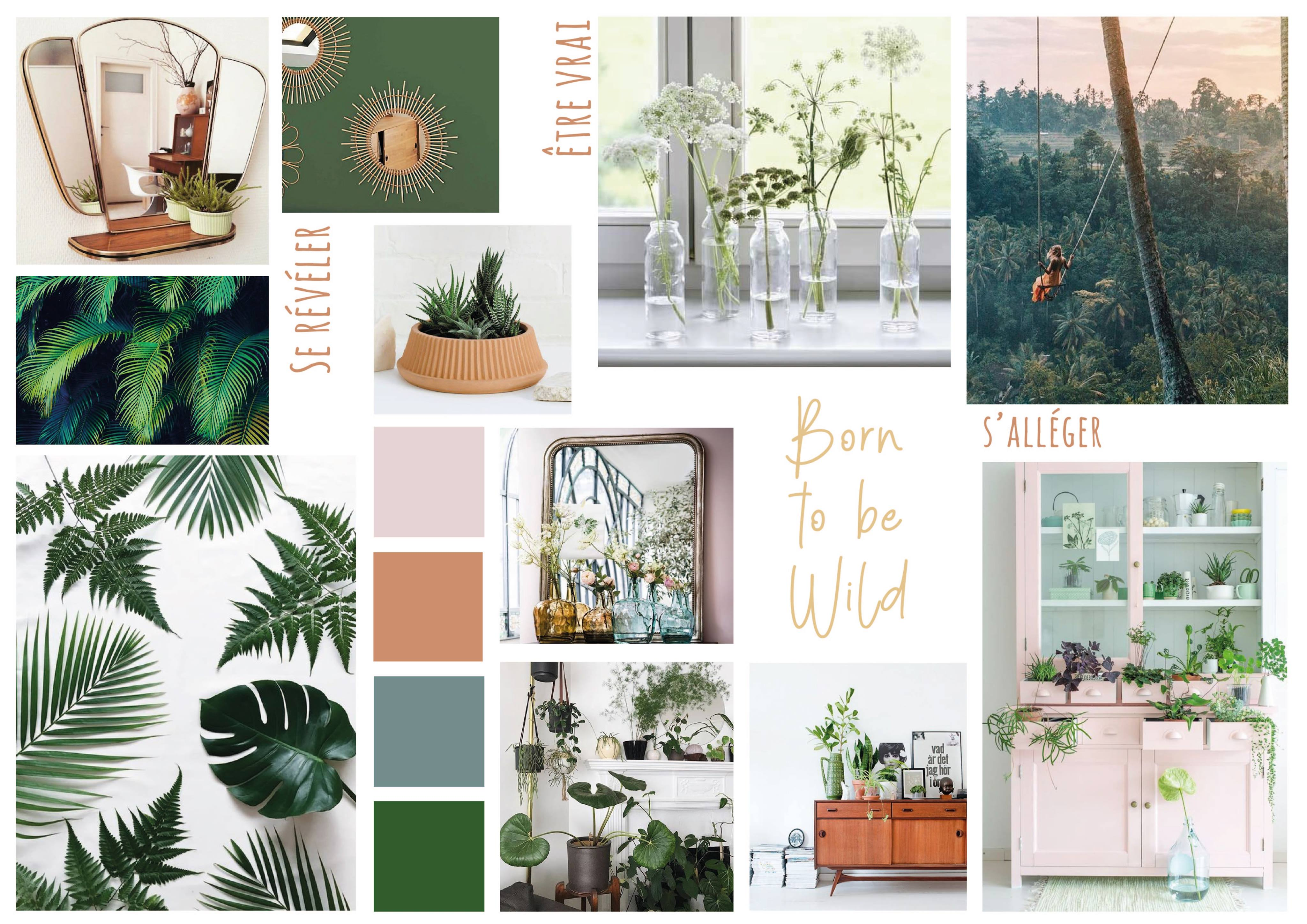 Moodboard born to be wild