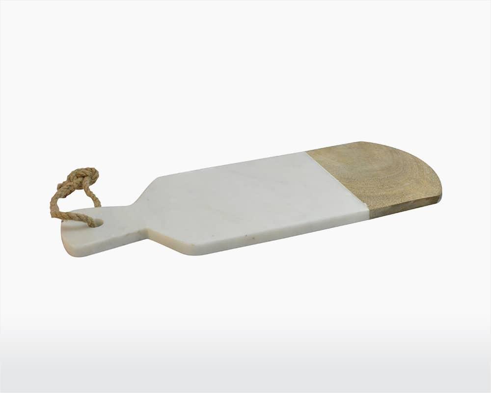 Planche à découper marbre & bois * Dassie Artisan