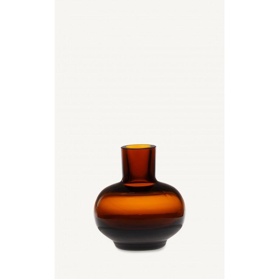 Mini vase brun * Marimekko
