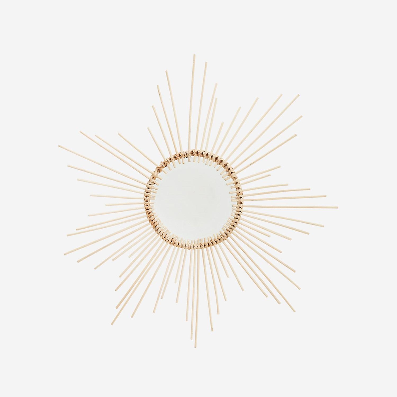Petit miroir soleil bambou * Madam Stoltz