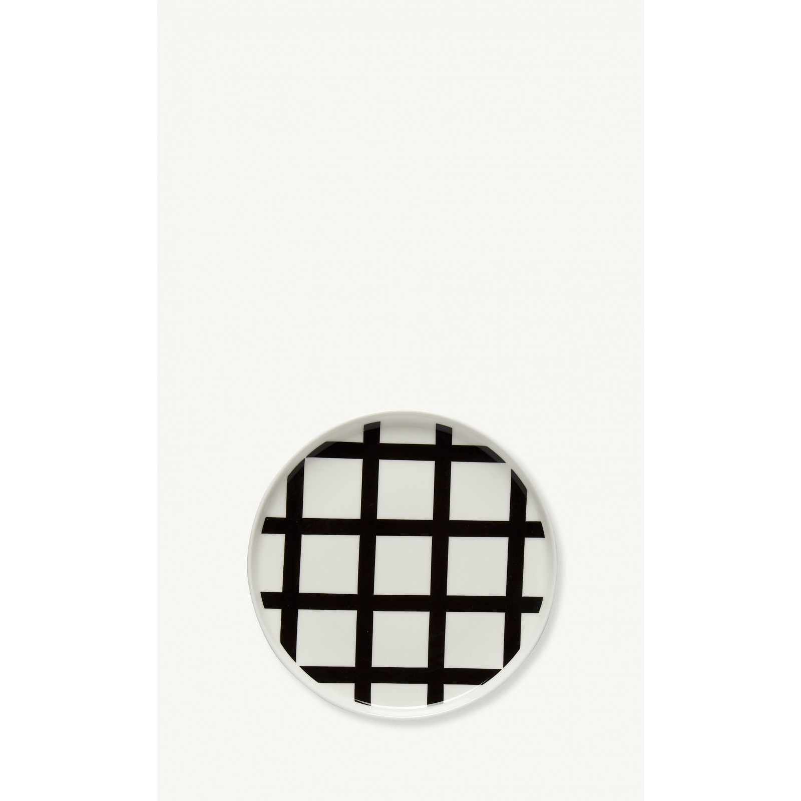 Assiette à motifs géométriques Spaljé ø20cm * Marimekko