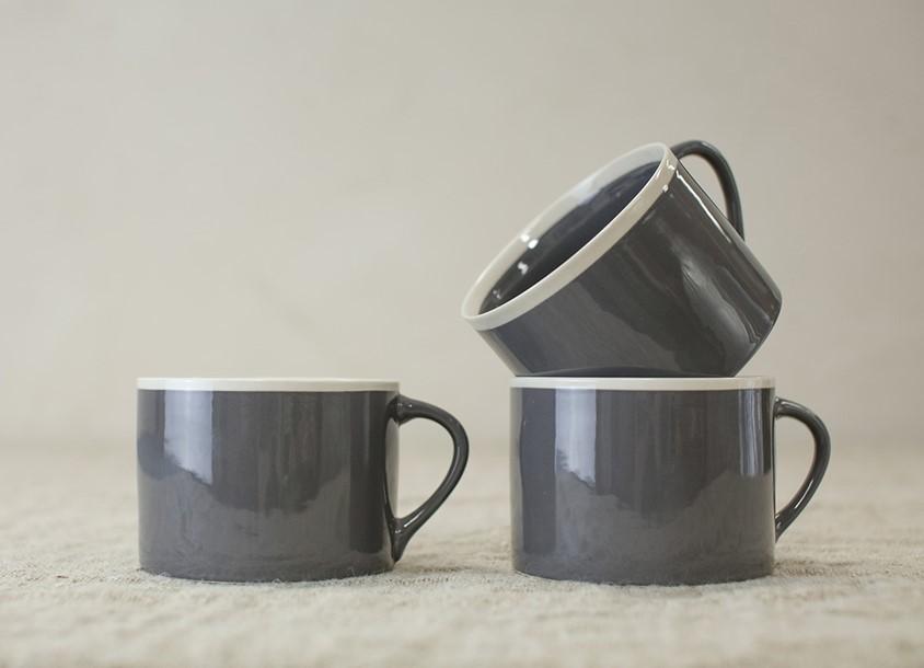 Tasse Datia couleur gris * Nkuku