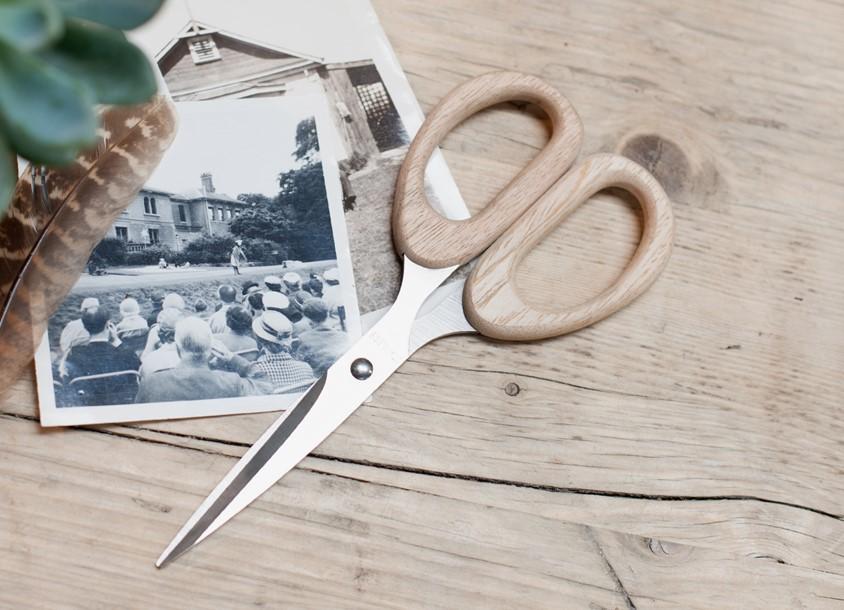 Ciseaux en bois