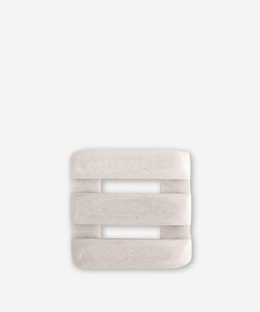 Porte-savon en marbre carré * Cool Soap