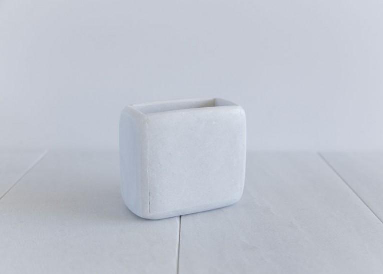 Porte brosse à dents en marbre (médium) * Cool Soap