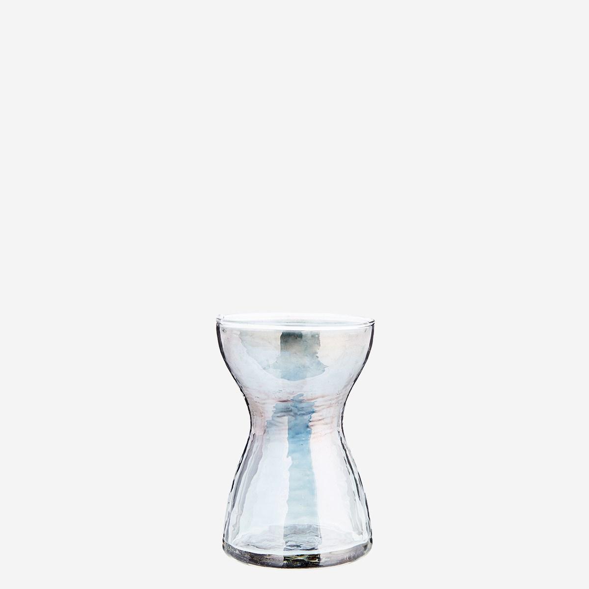 Vase gris effet lustré/argenté * Madam Stoltz