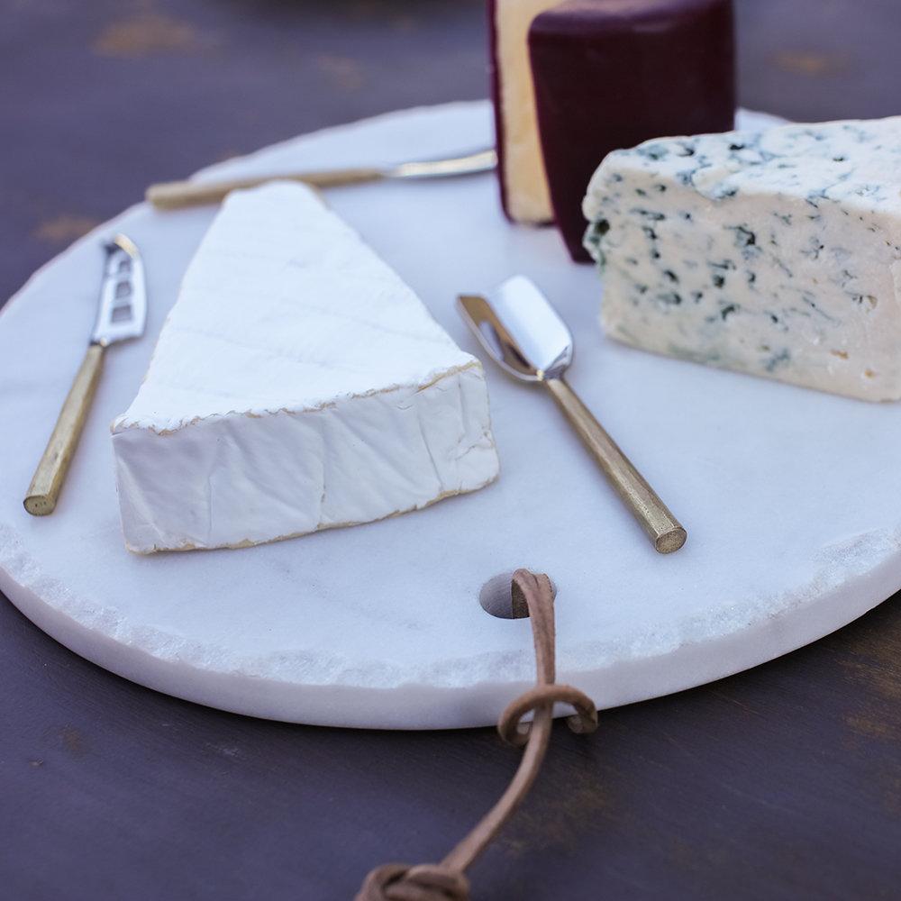 Set de couteaux à fromage Darsa doré * Nkuku
