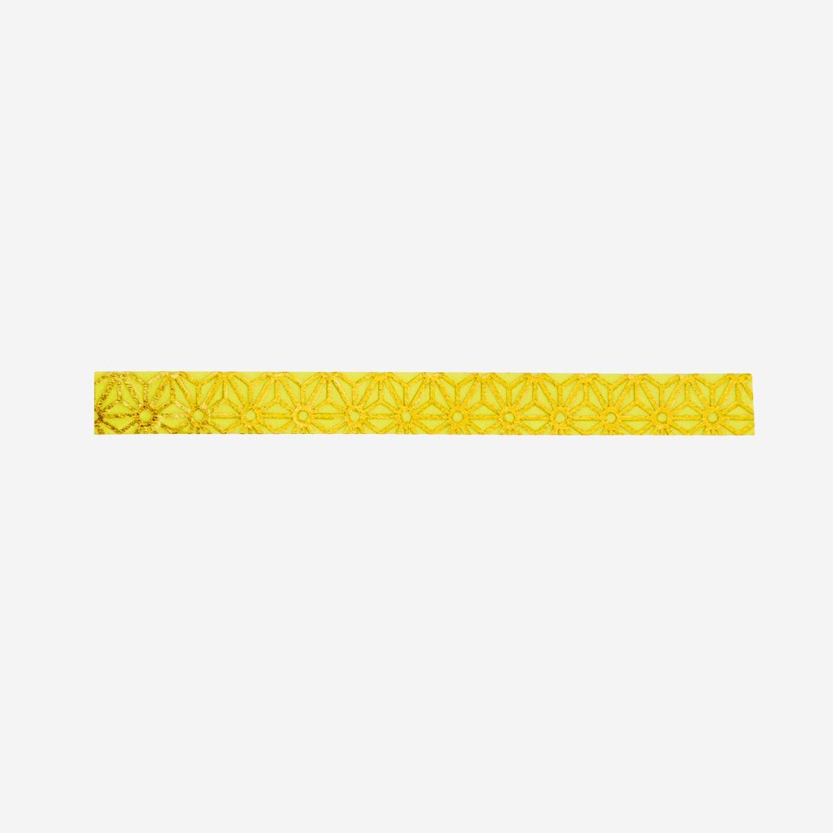 Tape étoile jaune/doré * Madam Stolotz