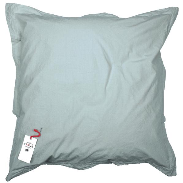Taie d'oreiller en coton lavé 65x65