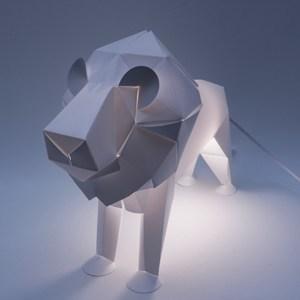 Luminaire lion lampe LED * Plizoo