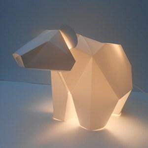 Luminaire ours lampe LED * Plizoo