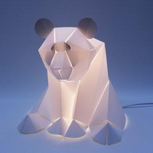 Luminaire à poser panda lampe led * Plizoo