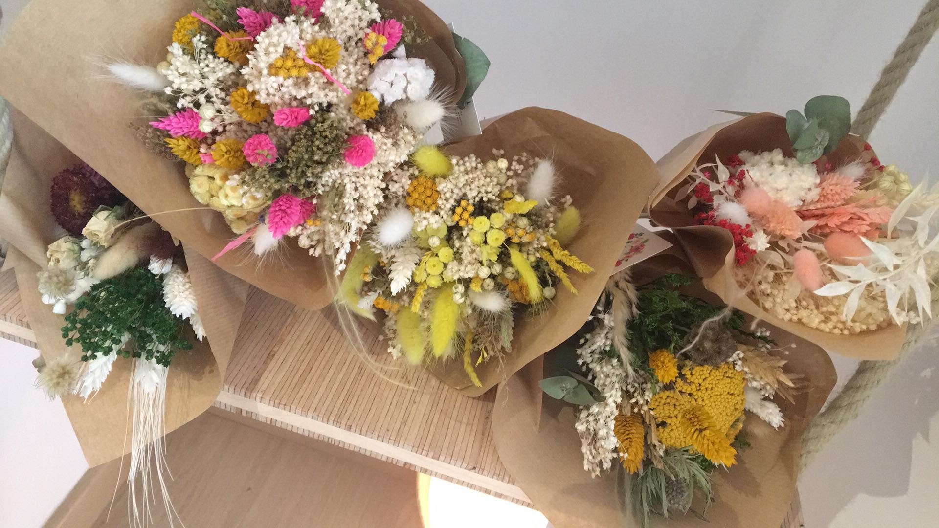 Bouquet de fleurs séchées Petit * La Fabrique aux Fleurs