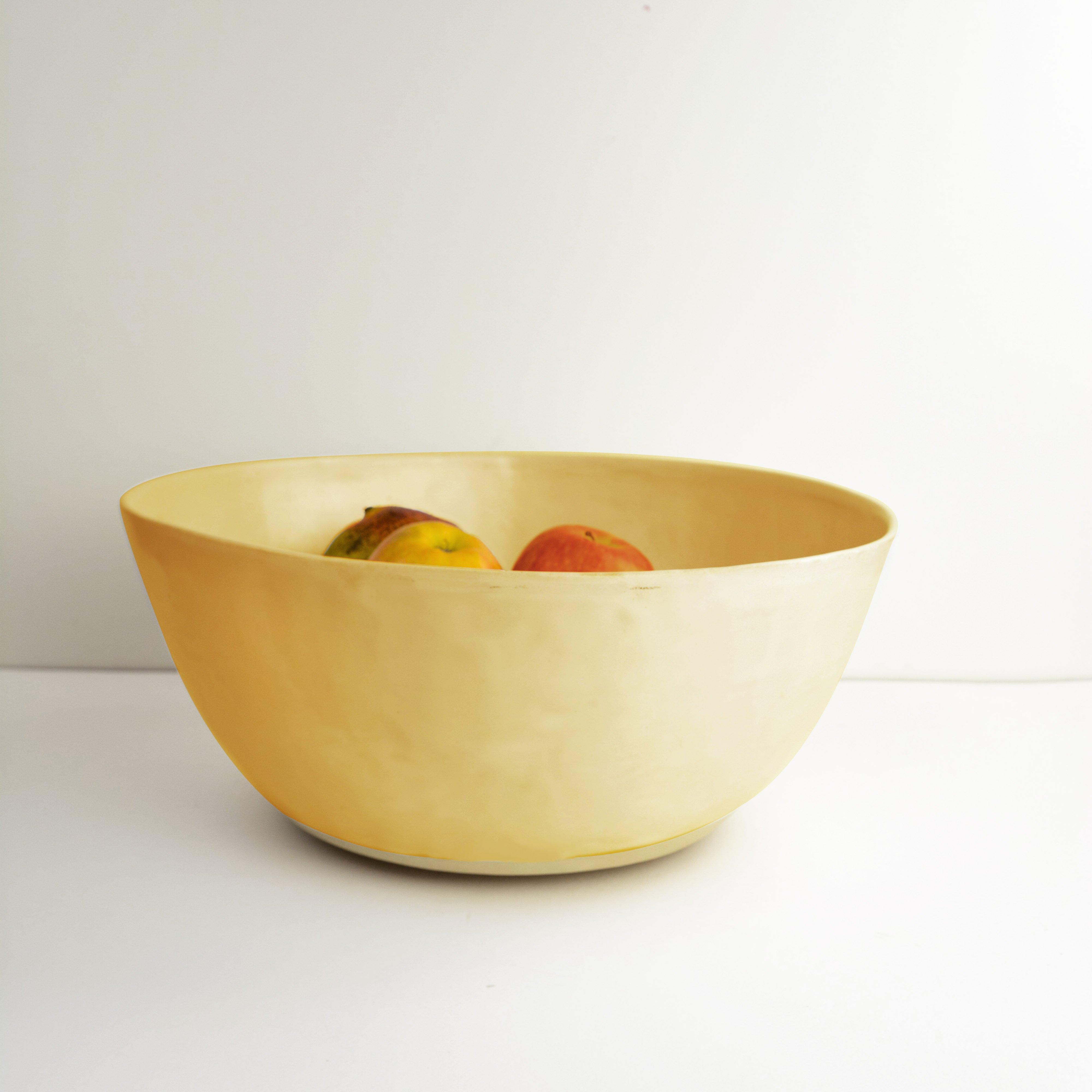 Saladier en céramique émaillée (L)
