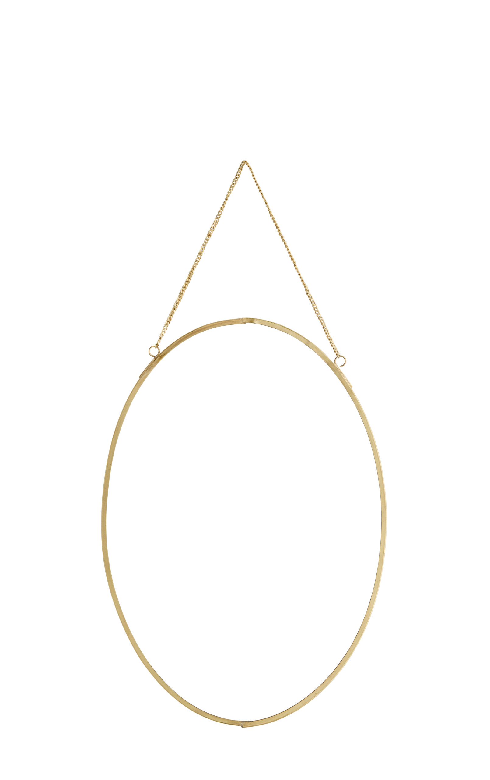 Miroir ovale portrait doré * Madam Stoltz
