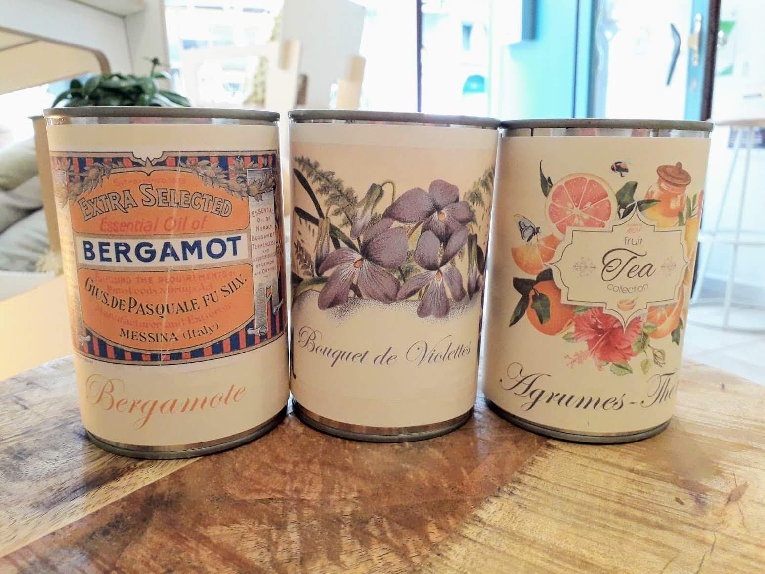 COMPLET - Création de deux bougies naturelles parfumées