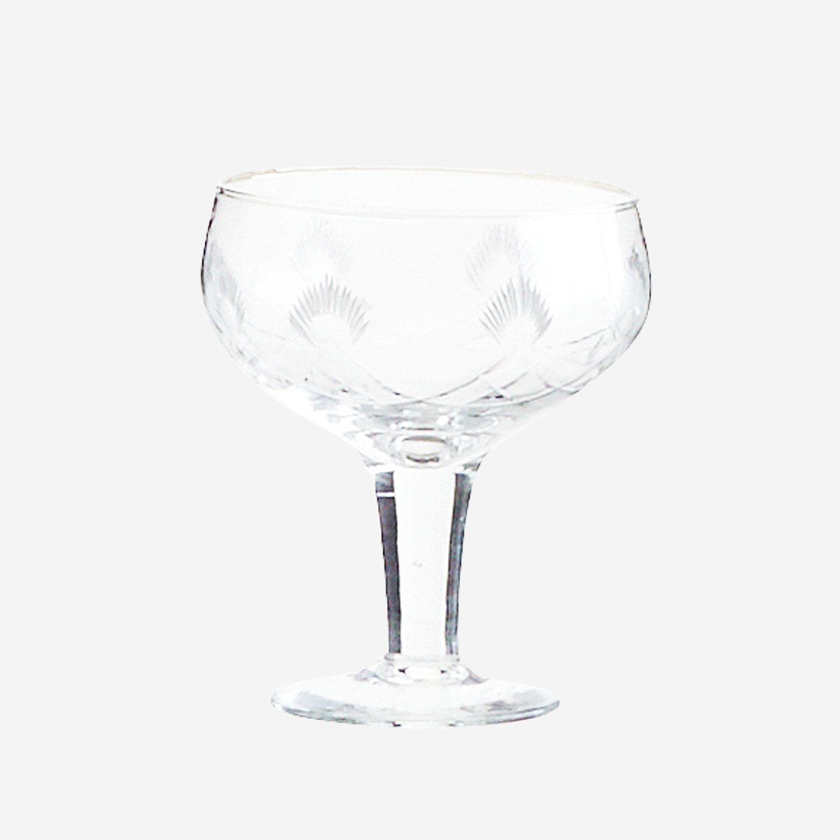 Coupe à cocktail motifs incisés * Madam Stoltz