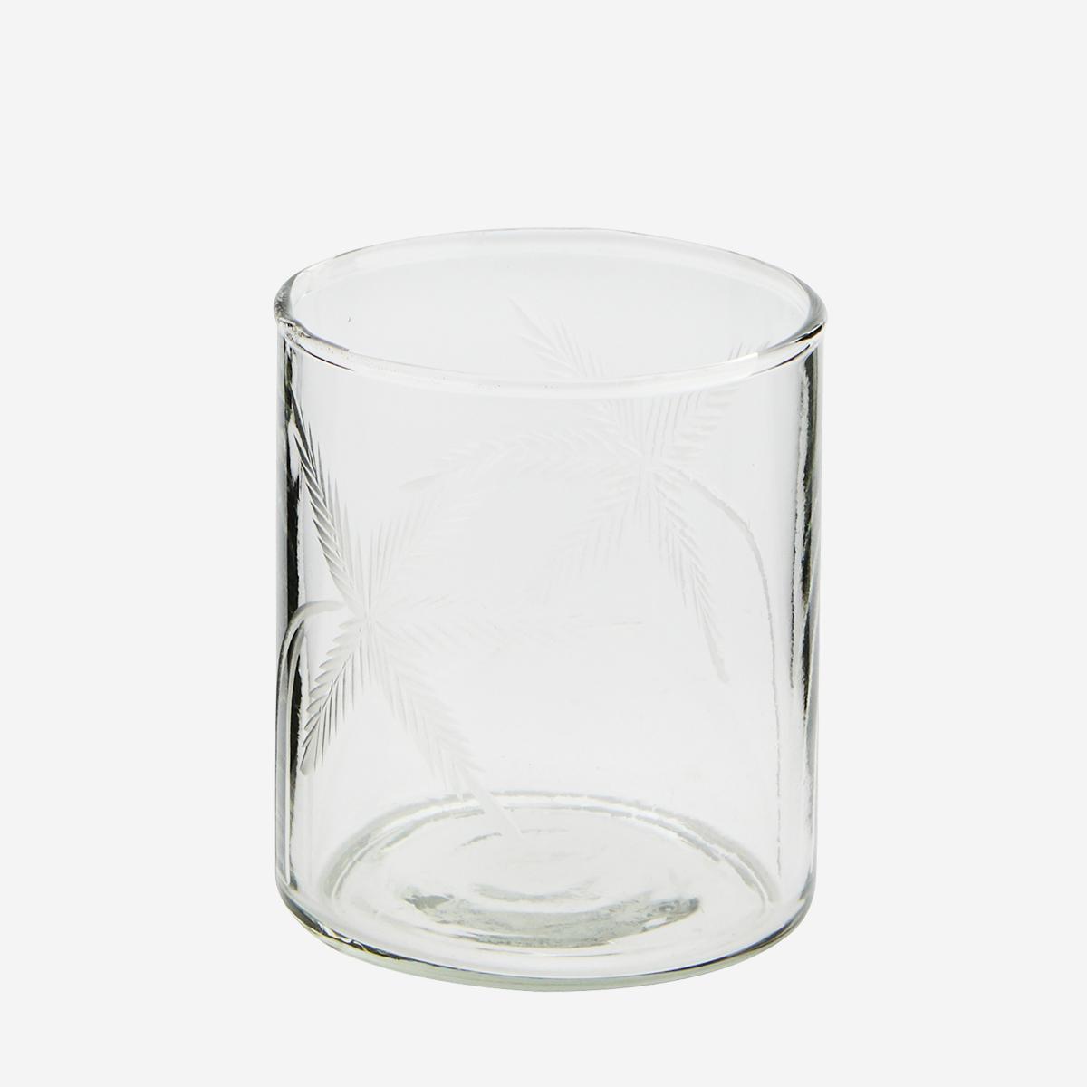 Photophore en verre / verre