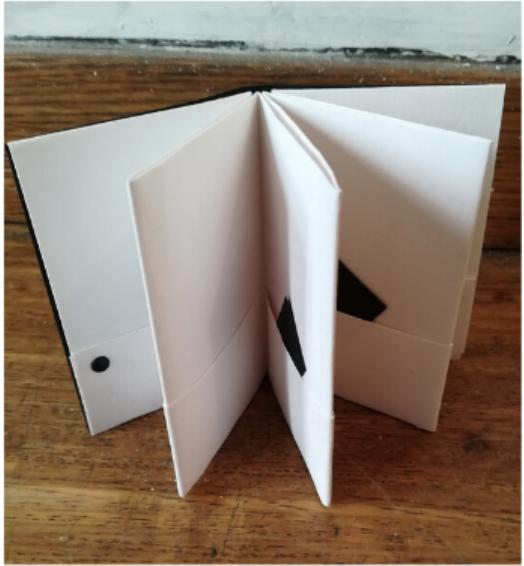 Atelier * Création d'un carnet-pochette