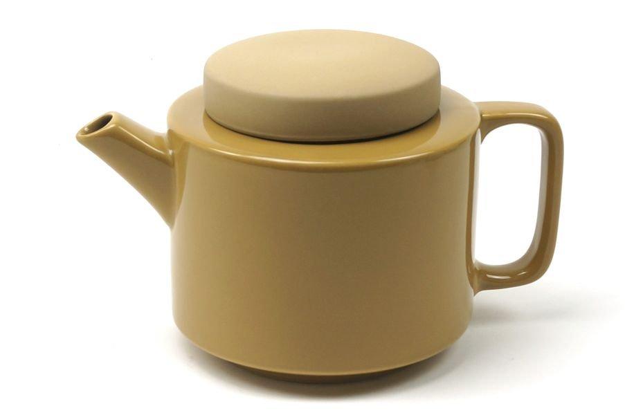 Théière XL 1350ml moutarde * Kinta