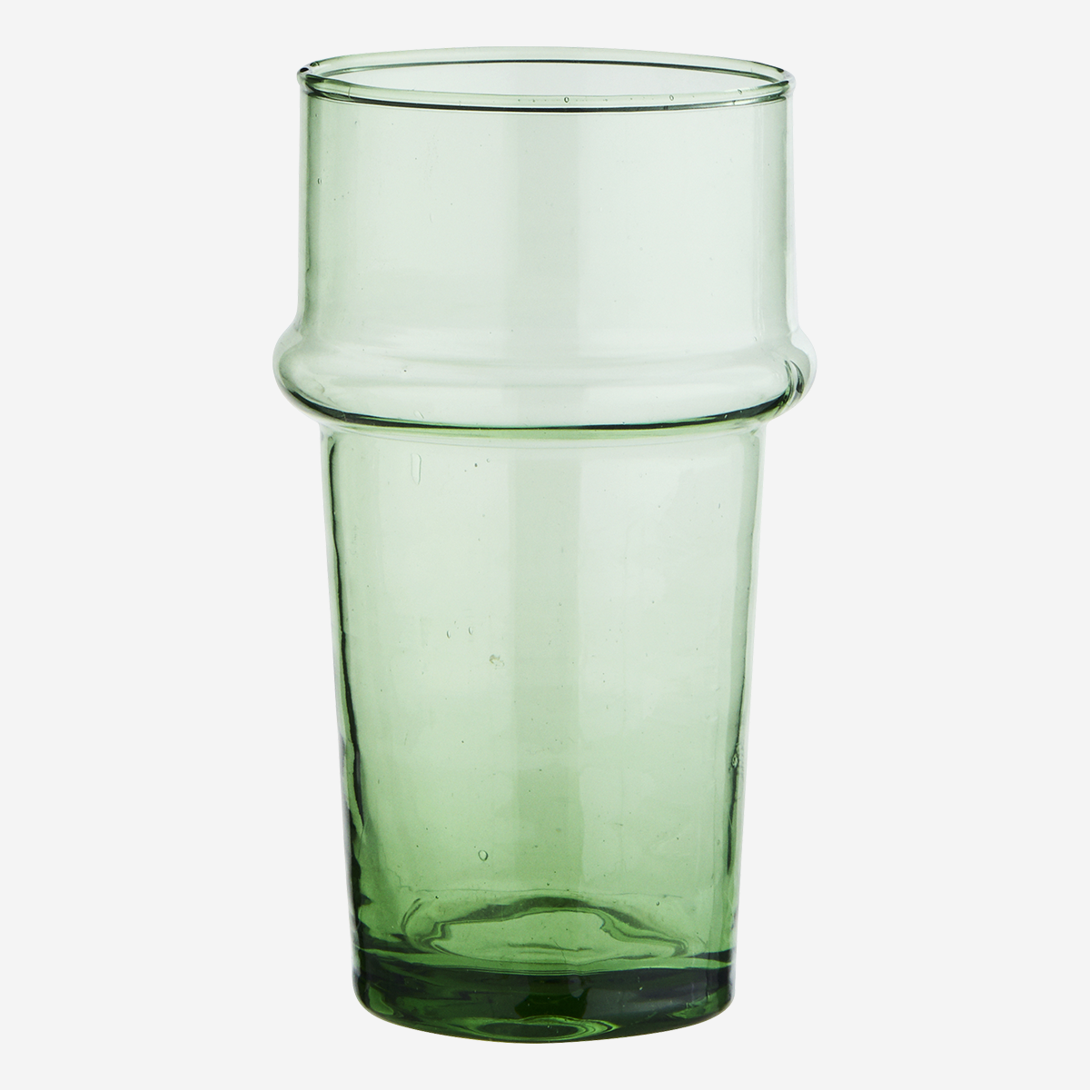 Verre Beldi haut vert (verre recyclé) * Madam Stoltz
