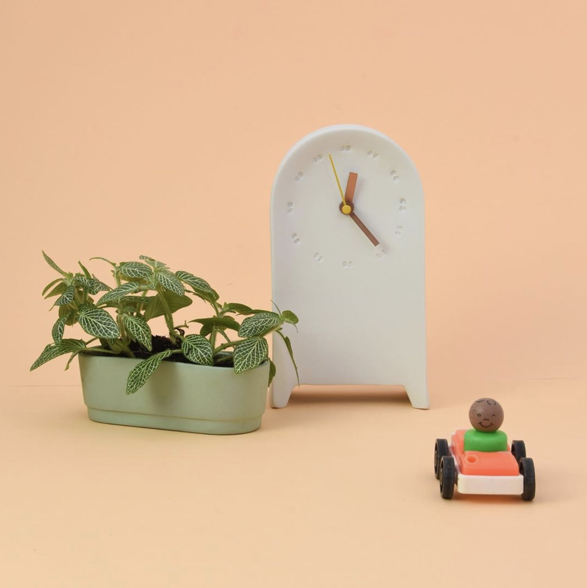 Cache-pot en porcelaine - intérieur émaillé (S) * Studio Harm en Elke