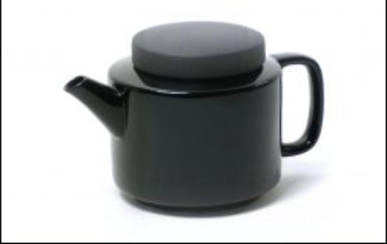 Théière L 950ml noire * Kinta