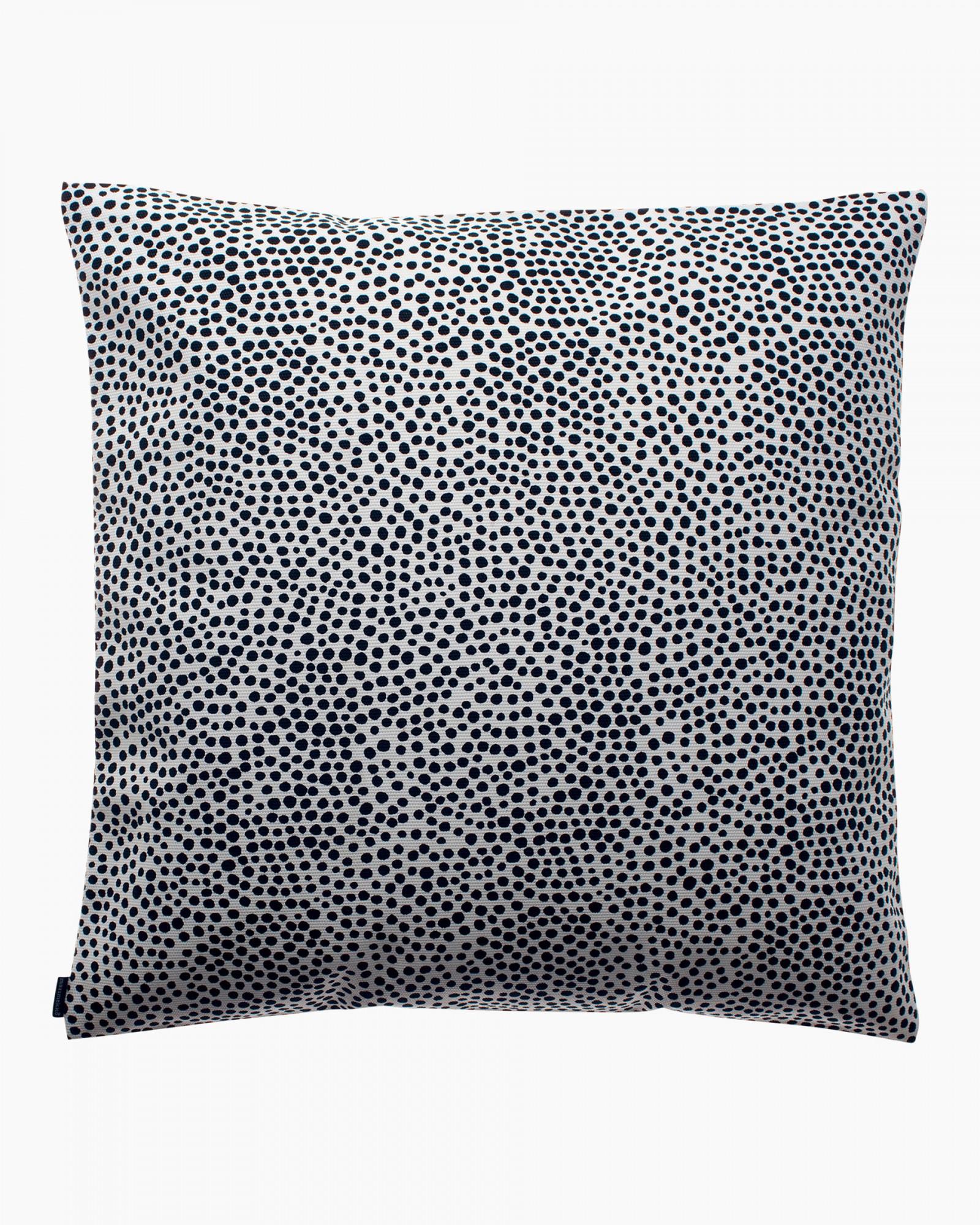 Housse de coussin Pirput Parput noir et blanc 50x50cm * Marimekko