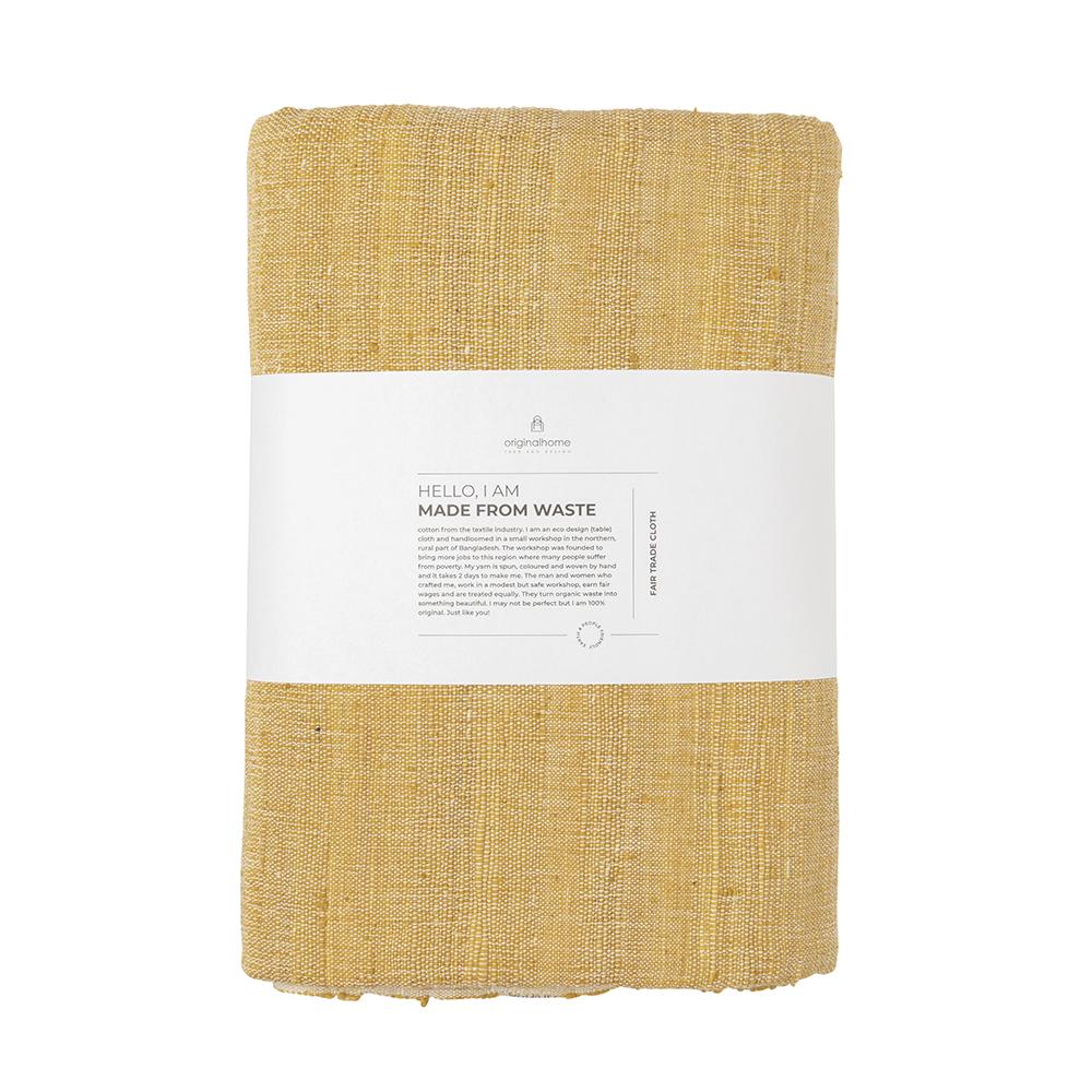 Chemin de table en coton jaune* Original Home