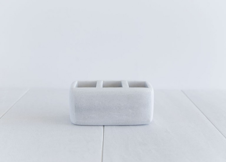 Rangement brosse à dents / crayons en marbre * Cool Soap