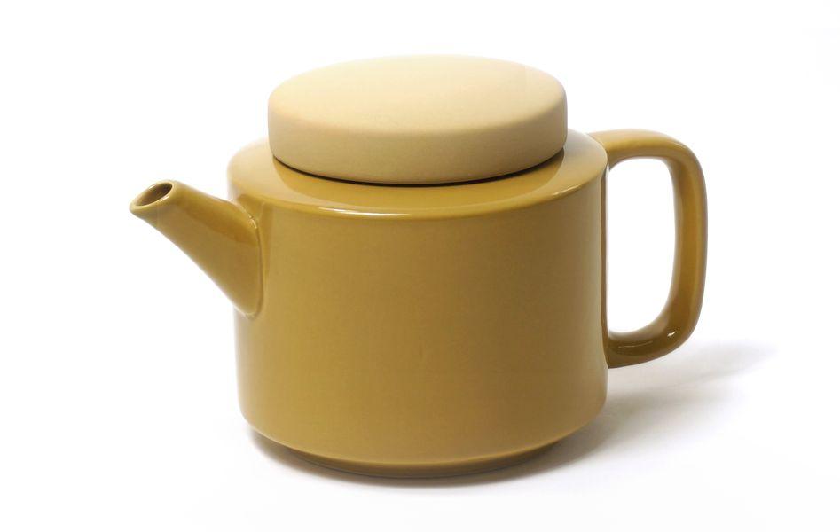 Théière L 950ml moutarde * Kinta