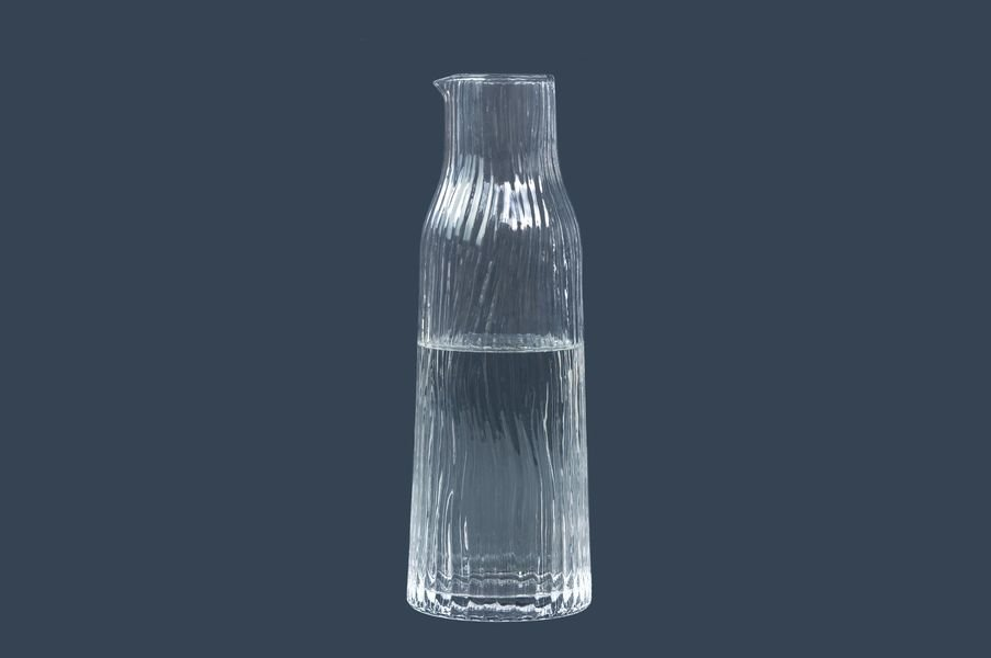 Carafe - Cruche Amnis 900ml transparente * Kinta