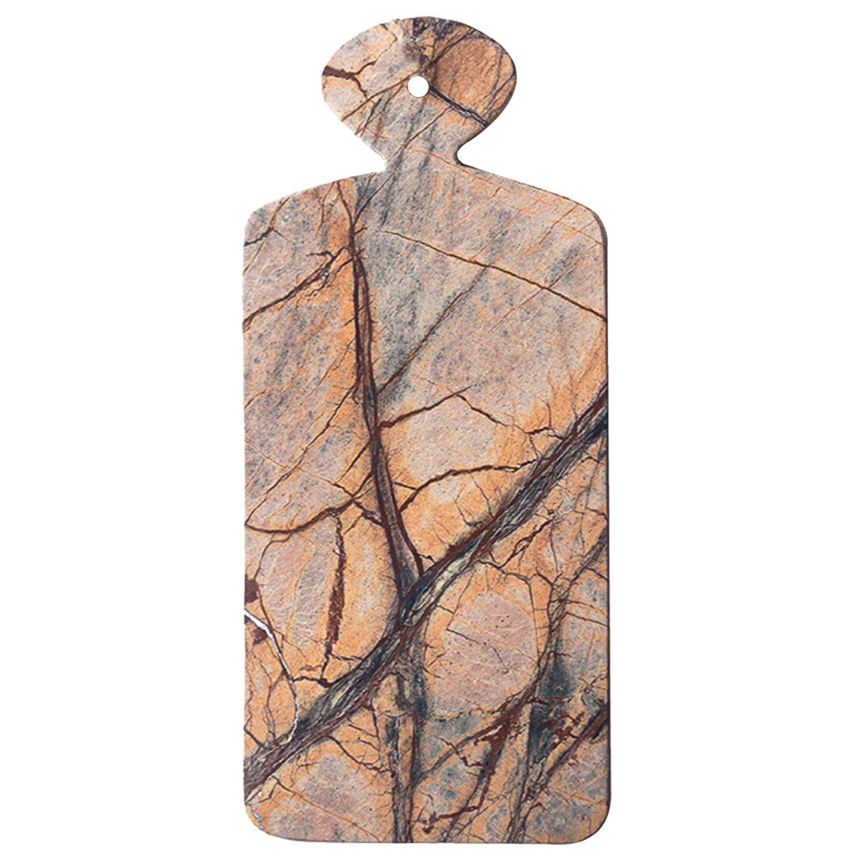 Planche en marbre de forêt rectangulaire * Be Home