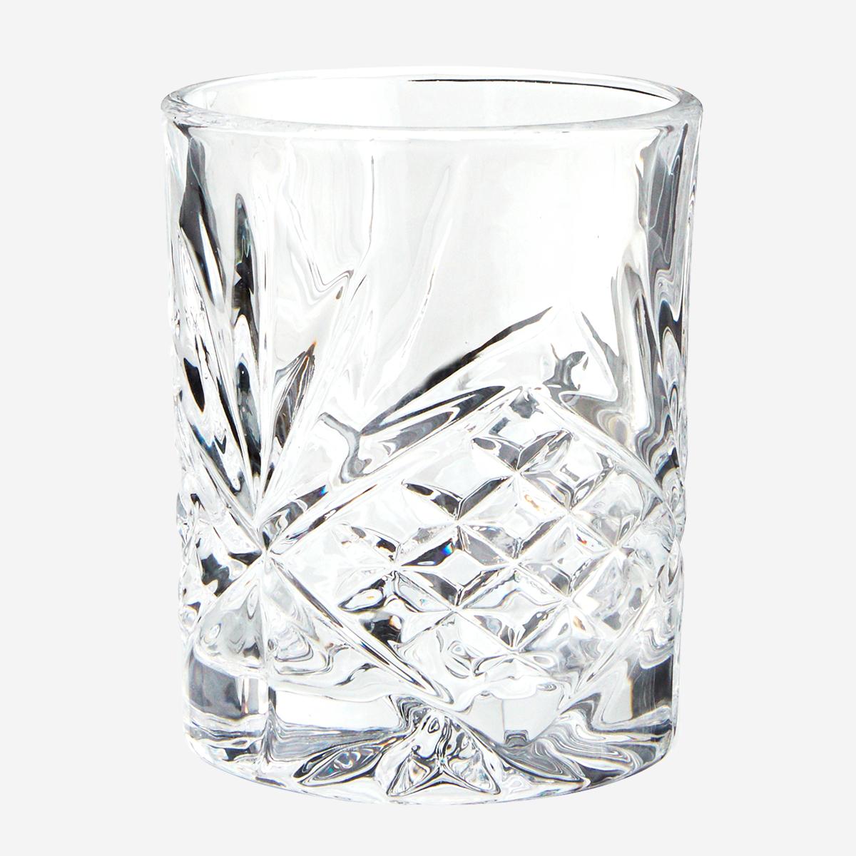 Verre à whisky ciselé * Madam Stoltz