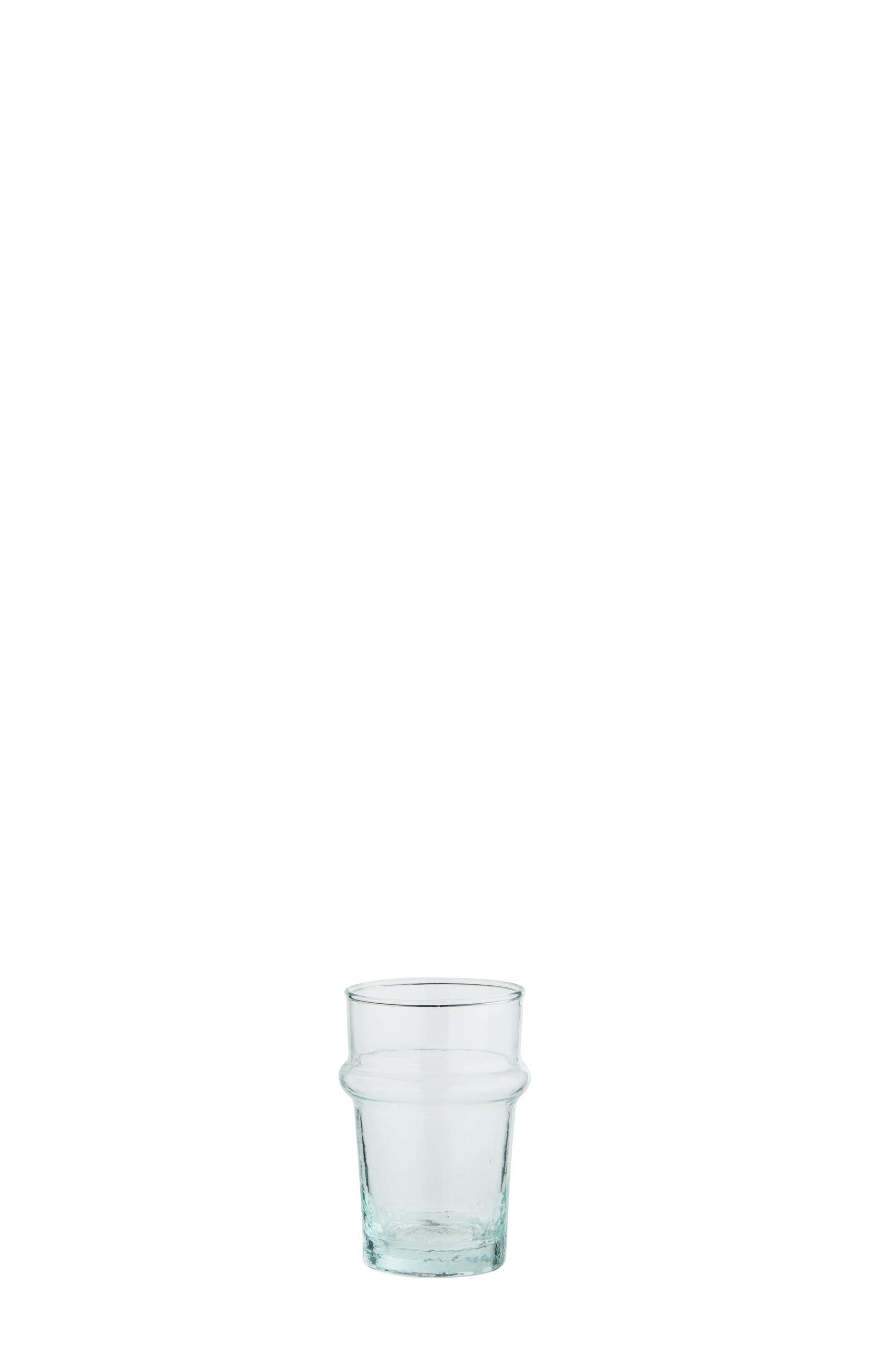 Verre Beldi moyen transparent (verre recyclé) * Madam Stoltz