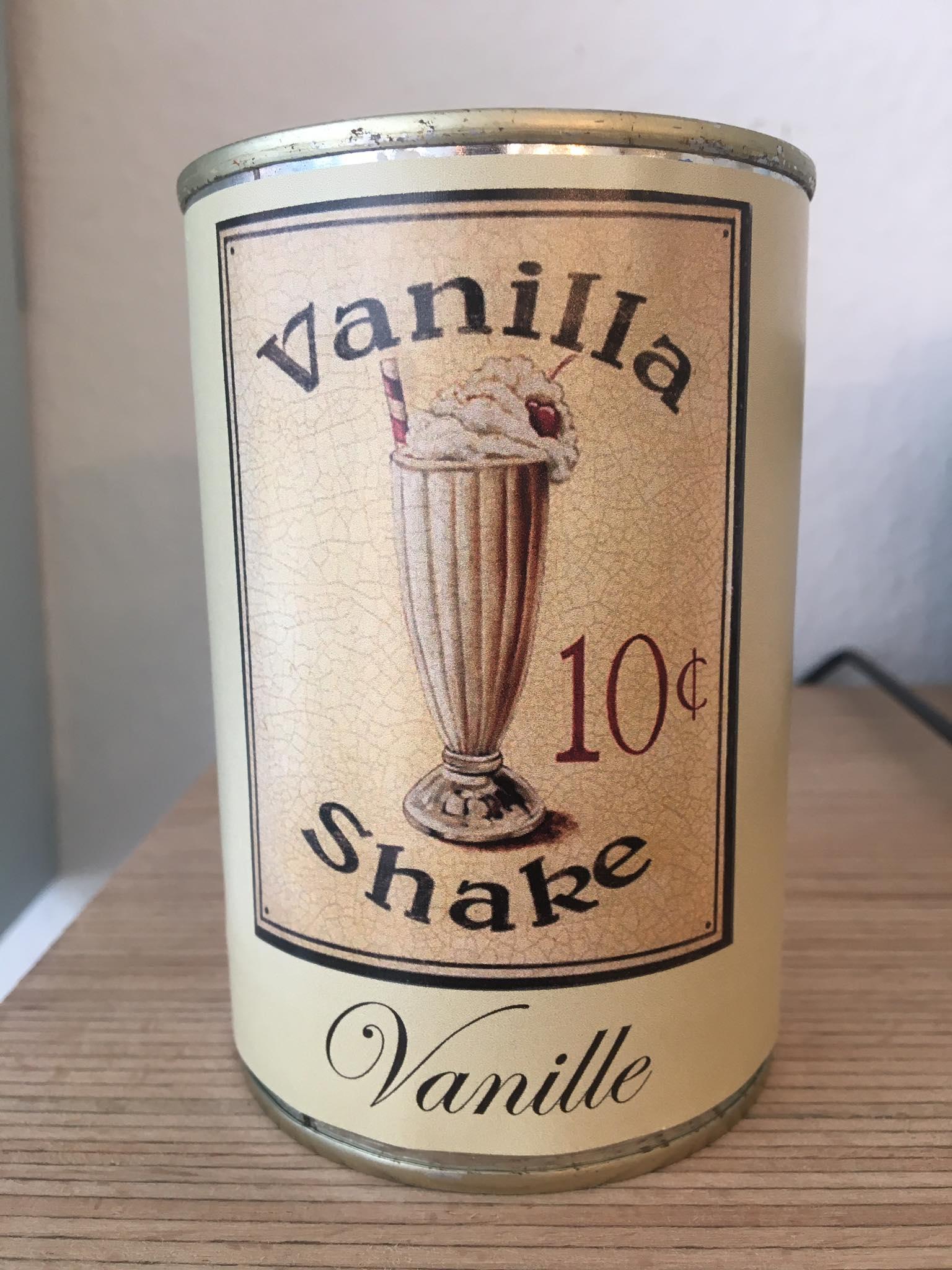 Bougie conserve Vanille * Zeste de patine
