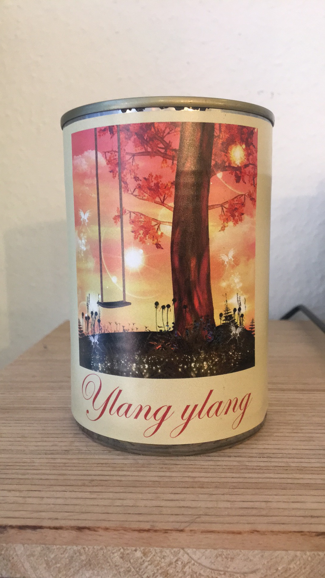 Bougie conserve Ylang-Ylang * Zeste de patine