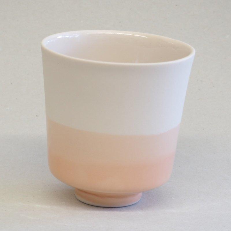 Cache-pot en porcelaine dégradé nude * Studio Harm en Elke