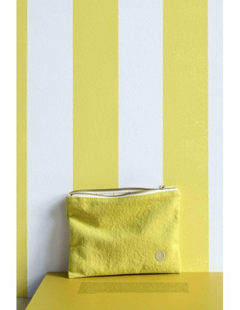 Pochette jaune vert Bergamote 20 M * La Cerise sur le Gâteau
