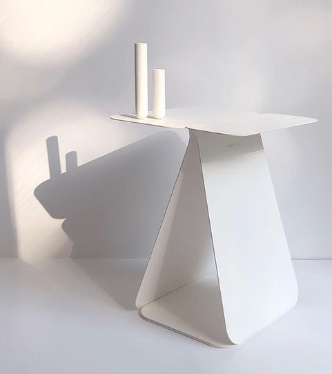 Table rectangulaire asymétrique en deux parties Youmy - 3 teintes * Mademoiselle Jo