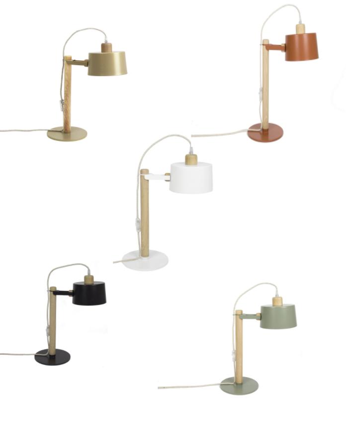 Lampe à poser / Lampe de bureau Suzanne - Plusieurs couleurs * Dizy Design