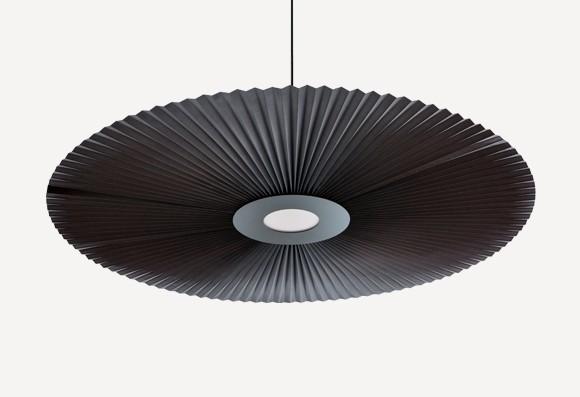 Suspension Carmen gris ardoise - 3 tailles * Hartô Design